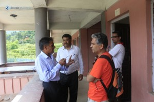 7. Talking with the teachers