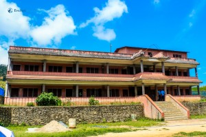 8. The school building