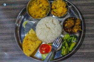 35.Typical nepali thali