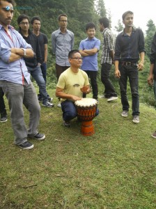 3. Djembe time