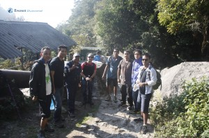 Hiking from Sundarijal  to Chisapani