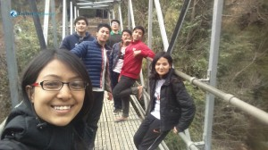 8. selfie on the bridge