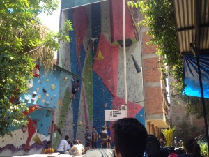 1. The Astrek Wall Climb