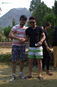 14. Brothers in shorts