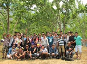Squad B outing to Chitlang Organic Village Resort, Makwanpur, Nepal