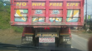 2. The best quotes to find on a truck's hind