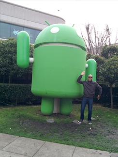 Android-miniature-at-Google