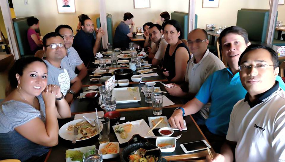 5. My Farewell Lunch