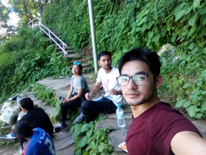 7. At the mean time while waiting for the lazy hikers