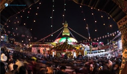 Newly-reconstructed-Bouddhanath-stupa-after-Earthquake-Featured