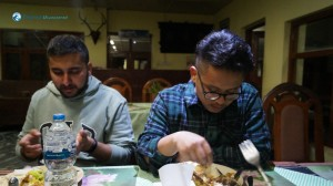 10. Dinnering with the manager