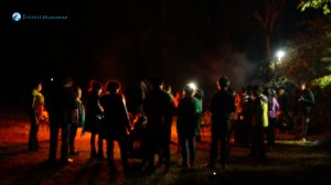 9. Campfire and we are around it