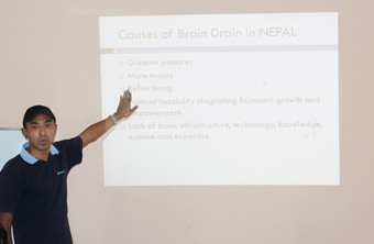 'Brain Drain in Nepal' by Sachin Karanjit