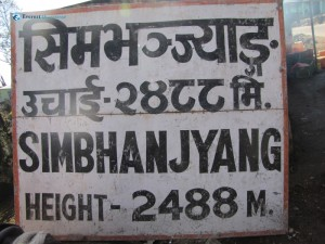 7 Reached Simbhanjyang