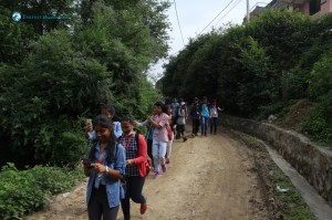 2. Hiking with technology