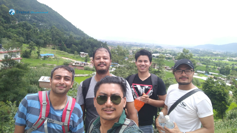 Research team's monsoon outing to Shivapuri Village Resort