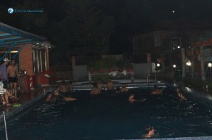 41. Night swimming
