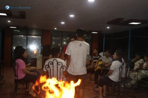 42. Barbeque with guitar