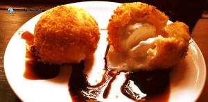 3. Scream for fried icecream
