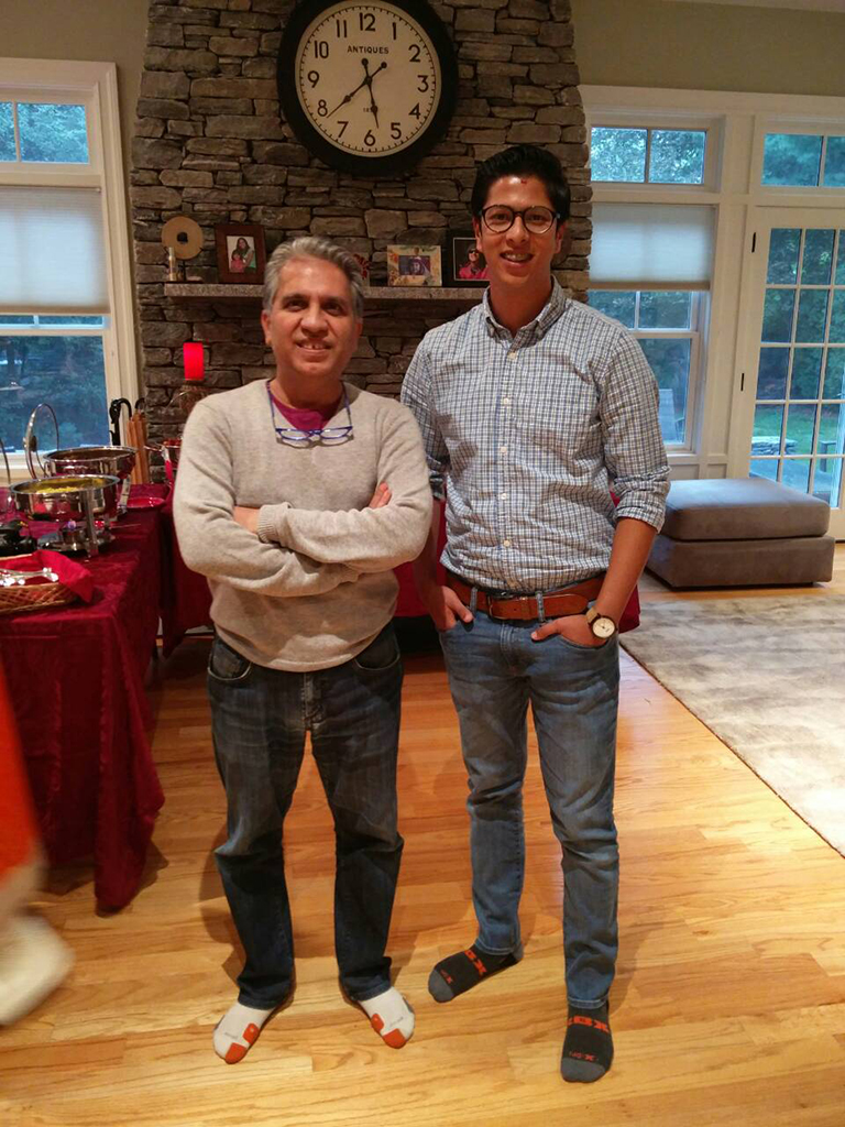 Dashain celebration at Rudra Dai place