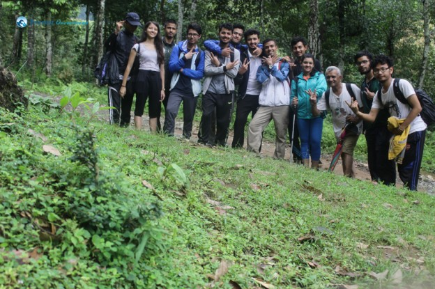 1. Hiking group