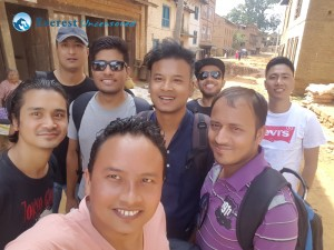 2. Group We-fie