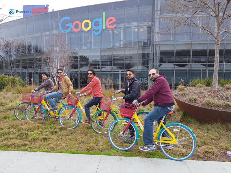 SIicon Valley-Google Centre_with the team