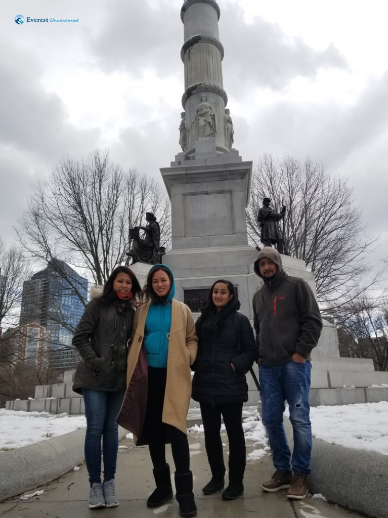 5. Boston Commons with B1 guys, thanks Pratik for the picture