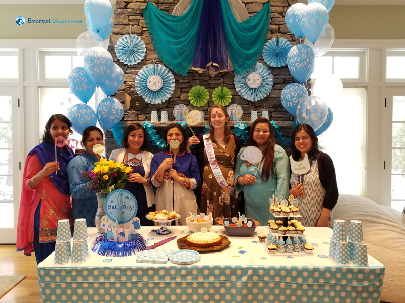 9. Zoey's Baby Shower