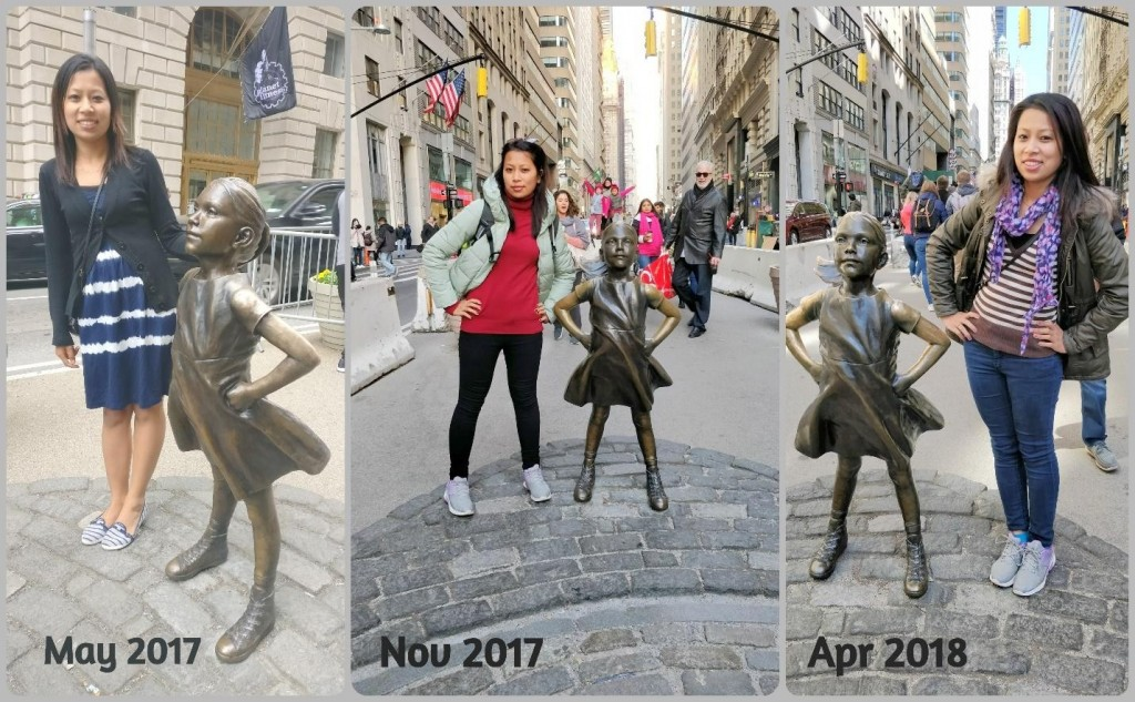 Fearless Girl, Manhattan, New York City