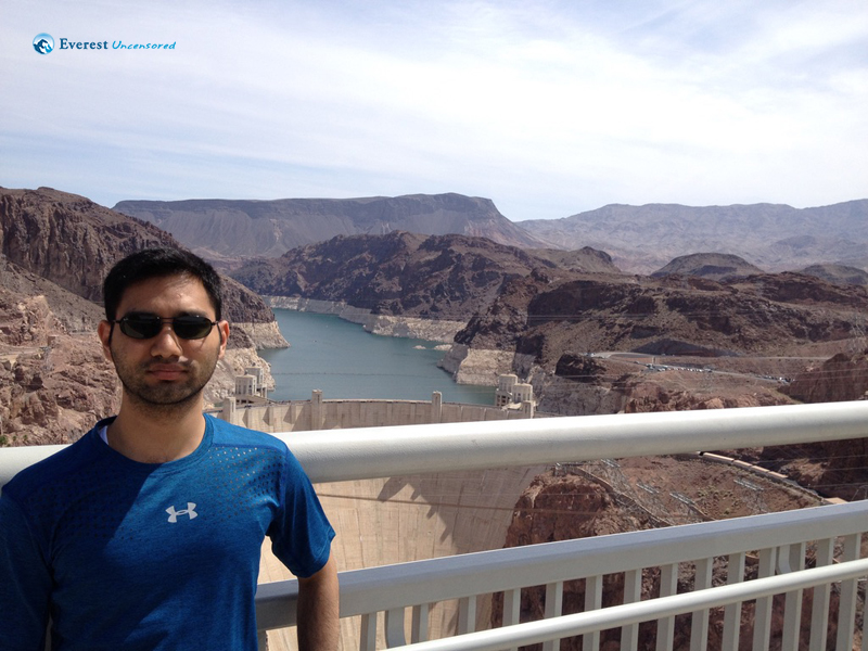 Standing in a Man Made Wonder - Hoover Dam