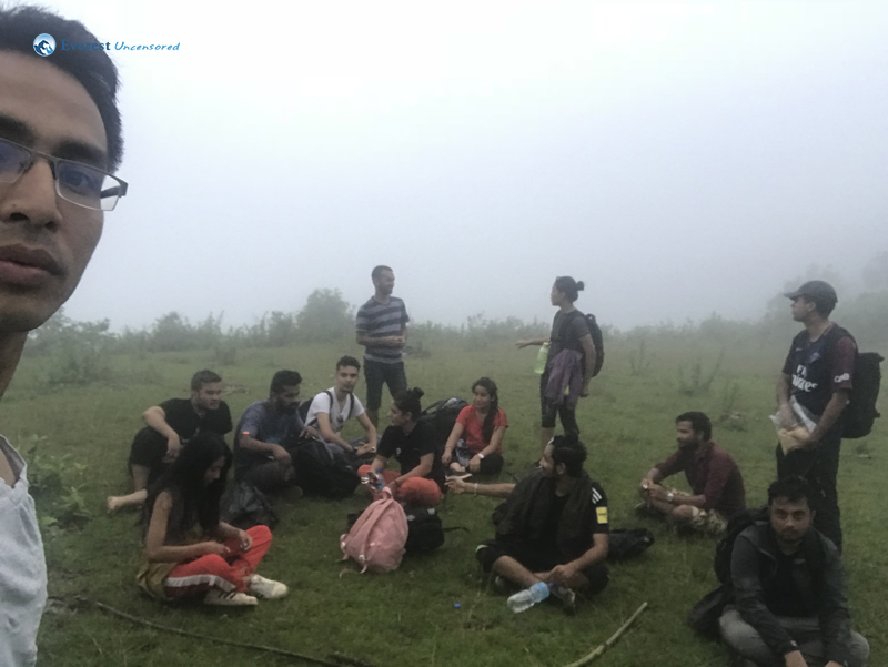 22. Group Selfie at the top