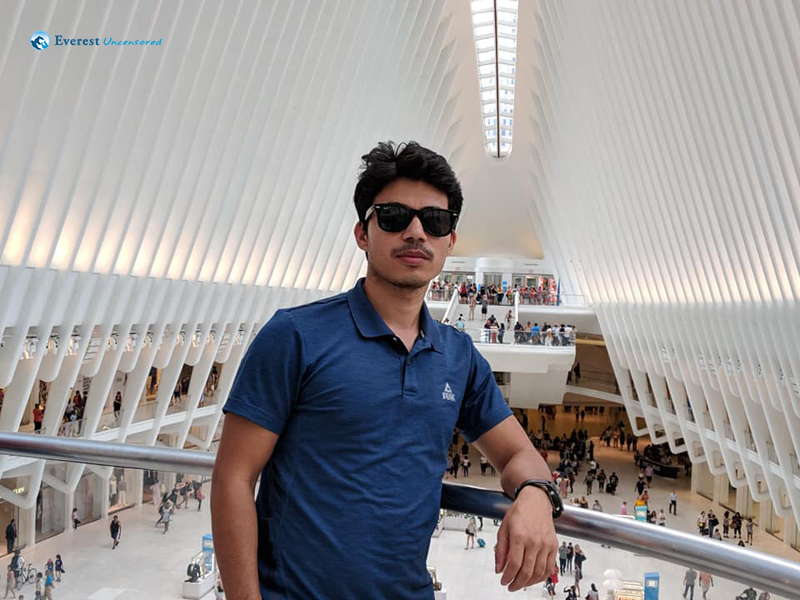 At the World Trade Center Transportation Hub