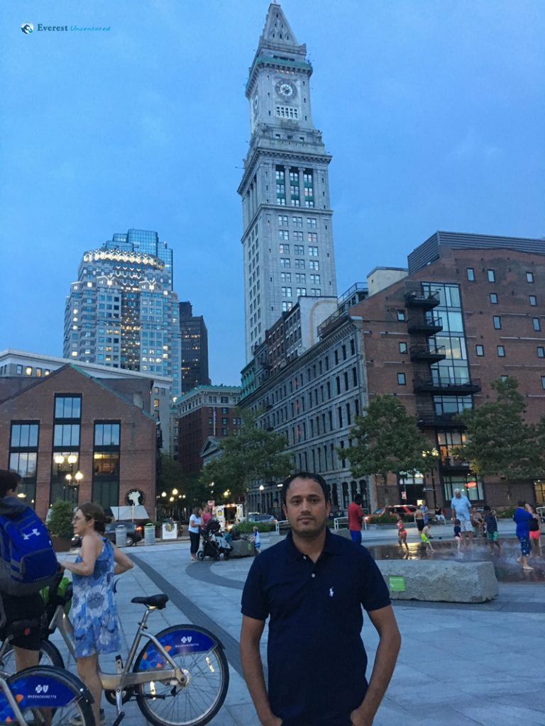 Evening strolls in Boston DownTown