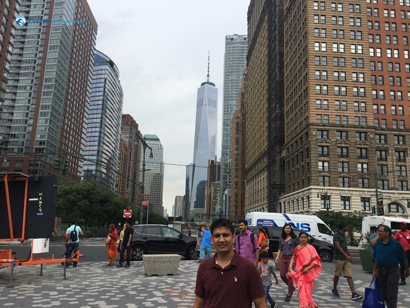 Roaming around New York City