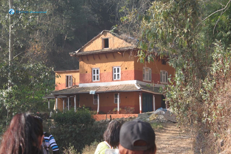 3. Beautiful house in the jungle