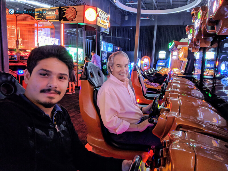 With Dave at Dave and Buster_s