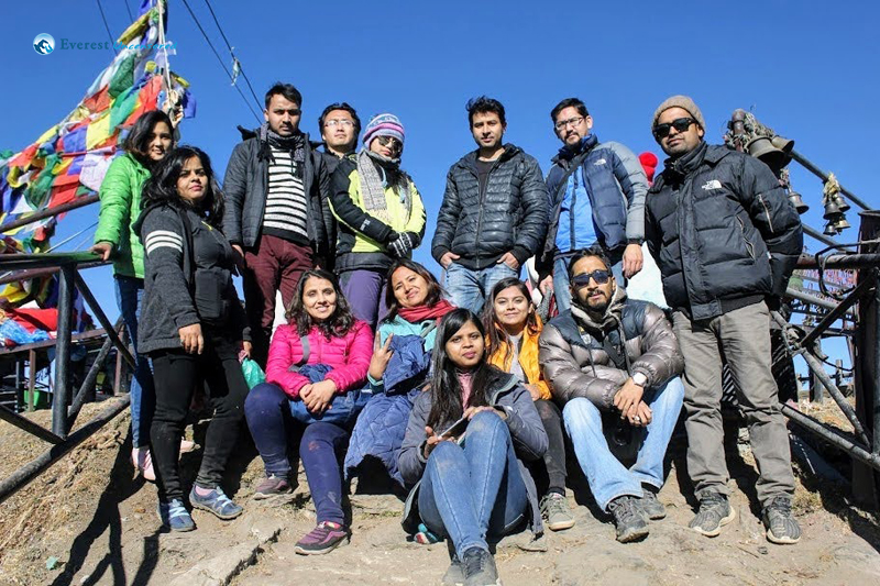 20. Group Picture At Kalinchowk