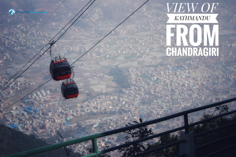 11 View Of Kathmandu From Chandragiri
