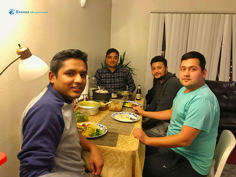 Dinner With Friends At San Francisco