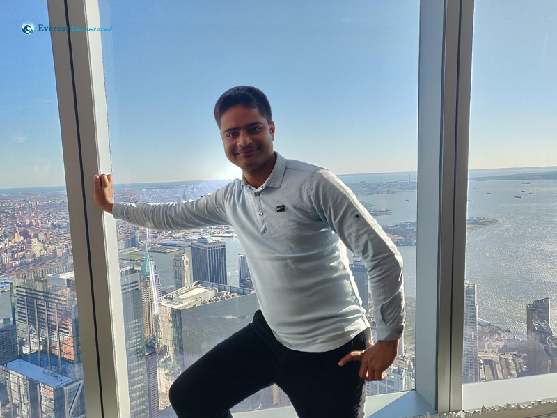 From The 110 Th Floor Of One World Trade Center