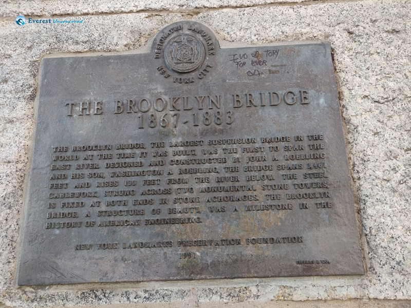 History Of Brooklyn Bridge