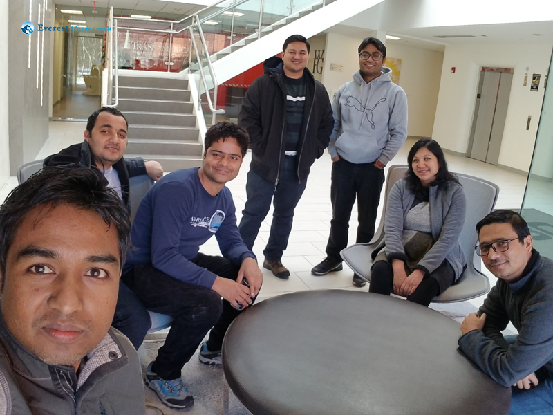 Nepalese In Us Office