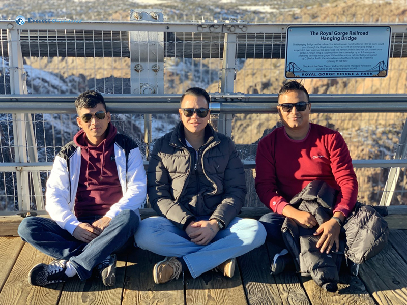 With Old Friends At Royal Gorge Bridge Colorado