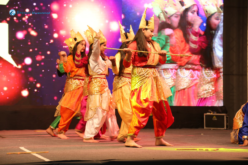 Sifal School Durga Dance