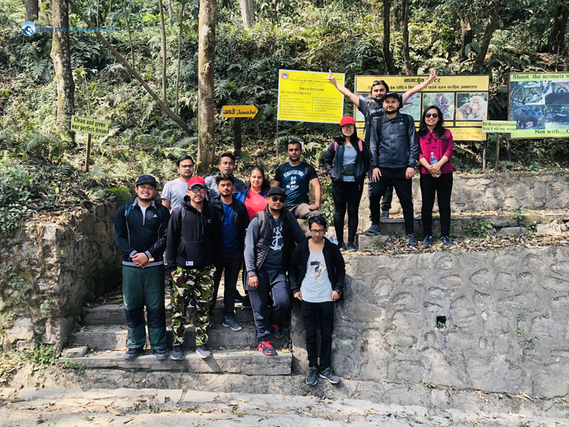 7 Official Hike Starts With Group Photo