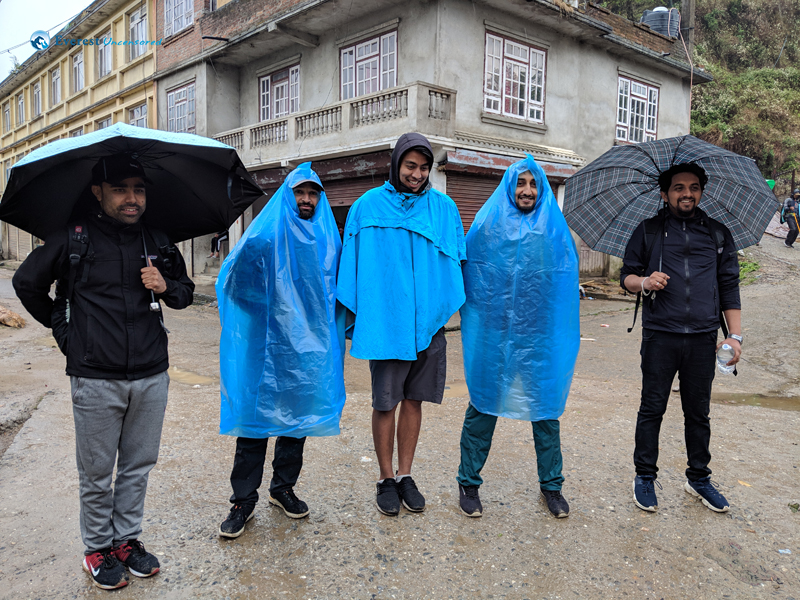 3.all Prepared For The Rainy Hike