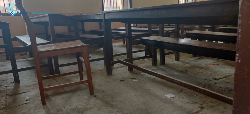 7. Classroom Before Cleaning