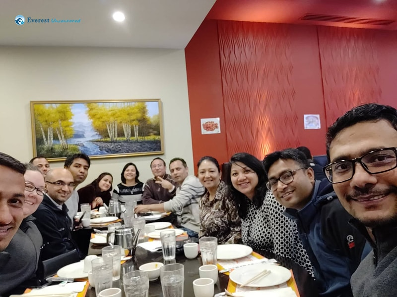 Farewell To Sushant Pokhrael At Chinese Restaurant