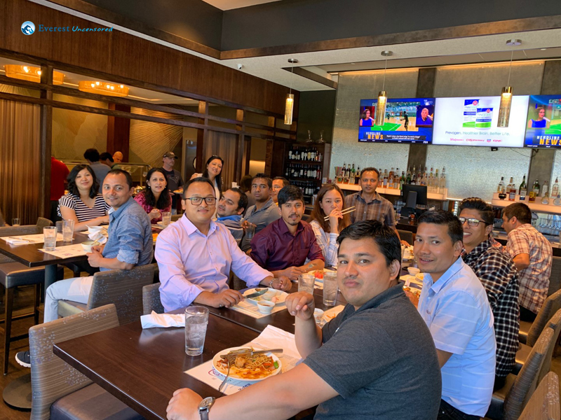 16. Last Day Lunch With Team